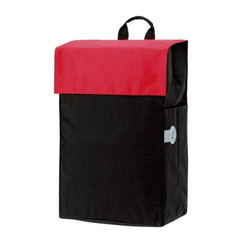 Andersen Bolsa Hera roja para carro de compra, volumen 44L