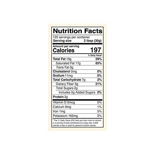 Kevala Organic Coconut Butter, 8 lb (128 oz)
