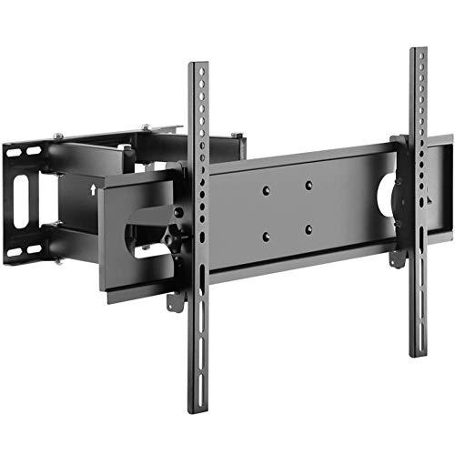 Dmqpp TV Wandbeugel Bevestiging Draaibaar en Kantelbaar voor de meeste 37-70 LED, LCD, OLED Flat Screen Tvs En Monitoren met VESA 600 * 400Mm Tot 15 KG, Full Motion Monitor