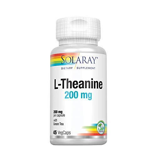 Solaray L-teanina - 45 Cápsulas