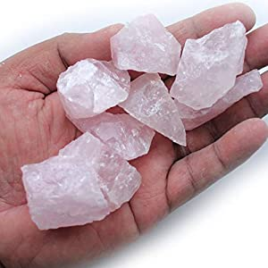 Madagascar Minerals Gem Decor Rough (1 LB) (Rose Quartz)