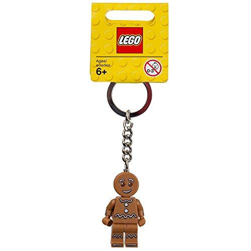 LEGO Minifiguras Coleccionables: Gingerbread Man Llavero (Collectible Minifiguras)