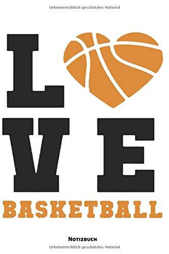 Notizbuch: Basketball Liebe Herz (liniert)