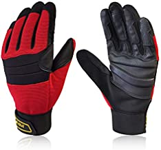 Intra-FIT Climbing Gloves Anti-Slip Durable Rope Gloves, Perfect for Rappelling, Rescue, Rock/Tree/Wall/Mountain Climbing, Adventure, Outdoor Sports Gloves