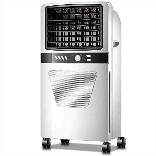 FUFU Climatizadores evaporativos Ventilador de aire acondicionado portátil, 3 velocidades Mini Personal Evaporativo Refrigerador de aire Ventilador Pantano Refrigerador de escritorio Humidificador Ven