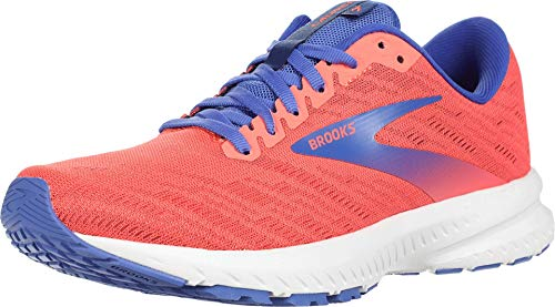 Brooks Launch 7 Coral/Claret/Blue 10.5 B (M)