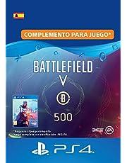 Battlefield V - 500 monedas de Battlefield - PS4 Download Code - ES Account DLC | PS4 Download Code - ES Account