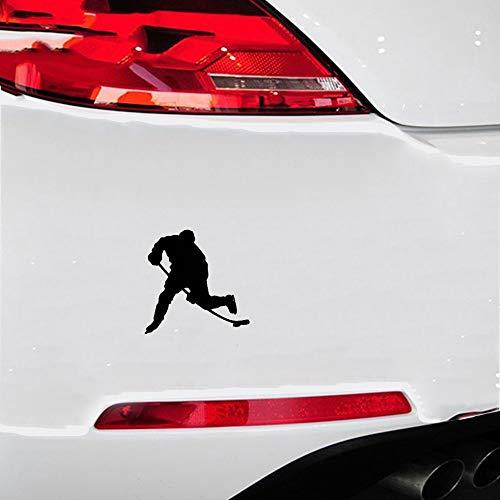 Fahrername Aufkleber Auto Das Windows des Eishockey-Spielers Auto Sticker Bewegungs-Abziehbilder für Auto-Laptop-Fenster-Aufkleber