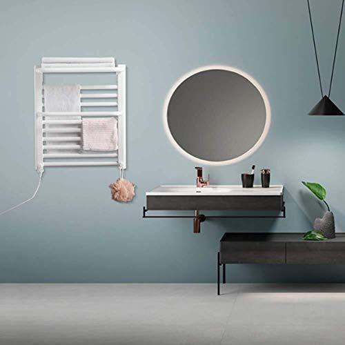 Yhtech Calentador de toallas montado con tapa de acero inoxidable Estante eficiente de la energía del enchufe eléctrico en Calentador de toallas de control remoto del termostato del calentador de toal