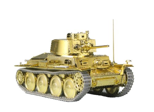 Girls und Panzer - 38(t) Tank -Kame San Team Ver.- Gold Edition (Plastic model) (japan import)