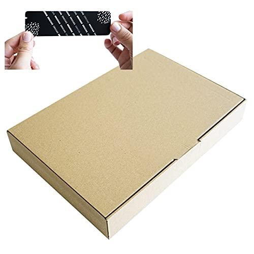 25 Uds Cajas de Cartón Envíos Automontables Paquetería Kraft Postal Ropa Producto. Tamaño y Unidades (35 x 25 x 5 cm 25 UDS)
