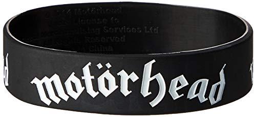 Motorhead Black Wristband Gummy Rubber Bracelet Band Logo Name Gift Official