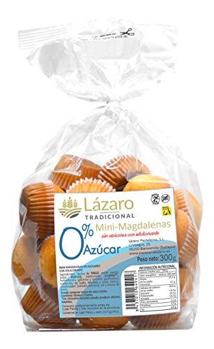 Lázaro Mini Magdalenas 0% Azúcar - 300 g