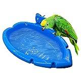 EYCIEROT Pájaro De Agua Bañera Alimentación De Baño En Jaula Cuenco De Baño para Mascotas Cabina De Ducha Al Aire Libre Periquito Agapornis