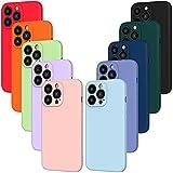iVoler 10x Custodia Cover per iPhone 13 PRO Max, Sottile Morbido TPU Silicone Antiurto...
