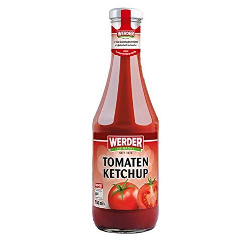 Werder Tomatenketchup 750 ml