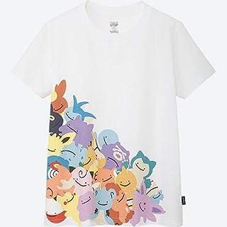メタモン 変身 集合 ユニクロ コラボ UT Tシャツ pokemon ポケモン ホワイト 白 S M L XL