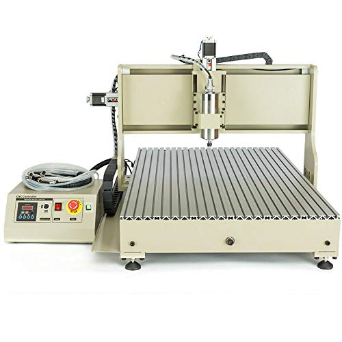 4 Axis 2.2KW Engraving Drilling Milling Machine