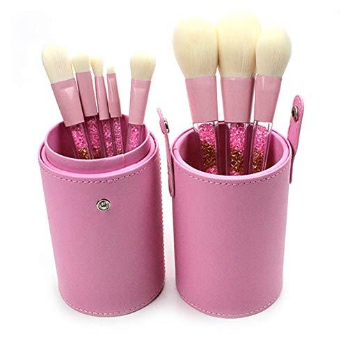 Brosse Set Maquillage Du Visage 8 Pcs Avec Baril Brosse Pour Les Débutants De L'école De Maquillage Pratique Pinceau De Maquillage