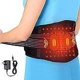 Fajas de cintura y abdomen, cinturón de cintura ajustable es adecuado para calambre de estómago, cinturón de cintura masajeable es adecuado para dolor de artritis, Alivio Dolor de Espalda