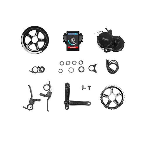 DERUIZ Bafang 750w Motores Electricos para Bicicletas BBS02B BBS02 48V 52V Kit de Conversion Bici Electrica para Bicicleta de Montaña