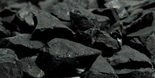 Boviswert Schungit Shungit 200 g. Rohsteine, Wassersteine, MIT Zertifikat!