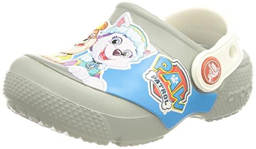 Crocs Fun Lab Paw Patrol Clog Kids, Zuecos Unisex Niños, Gris (Light Grey 007), 24/25 EU