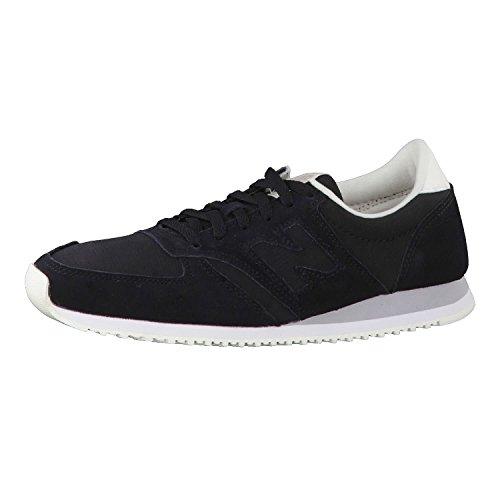 New Balance Damen WL420-MBC-B Sneaker, Schwarz, 38 EU
