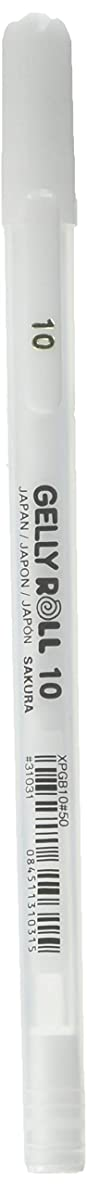 Sakura White Gelly Roll Classic Bold Point Pens Cup 36/Pkg