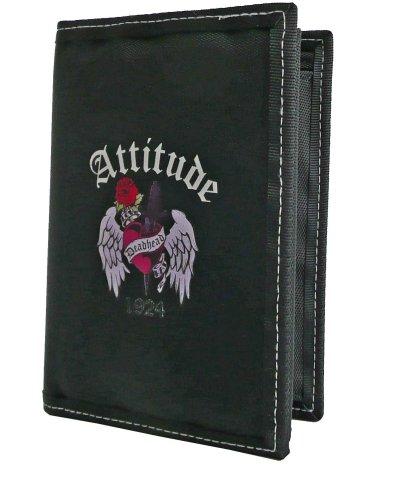 Amaro Attitude Geldbörse, schwarz, 2812-10
