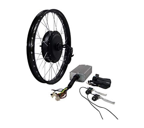 Kit de motor de cubo de 3000 W para bicicleta eléctrica Stealth