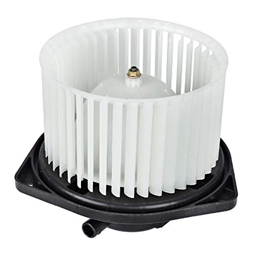 700239 HVAC ABS Plastic Heater Blower Motor with Fan Cage Compatible with 2008-2016 Mitsubishi Lancer, 2008-2013 Mitsubishi Outlander Replaces 7802A217, 615-50180