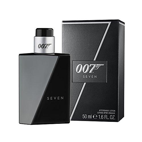 James Bond 007 Seven – After Shave Lotion – Fruchtig-würziges Rasierwasser für den gewagten und eleganten Auftritt – 1er Pack (1 x 50ml)