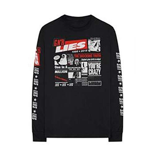 Bravado Mens Guns N Roses Lies Long Sleeve T-Shirt-XXL