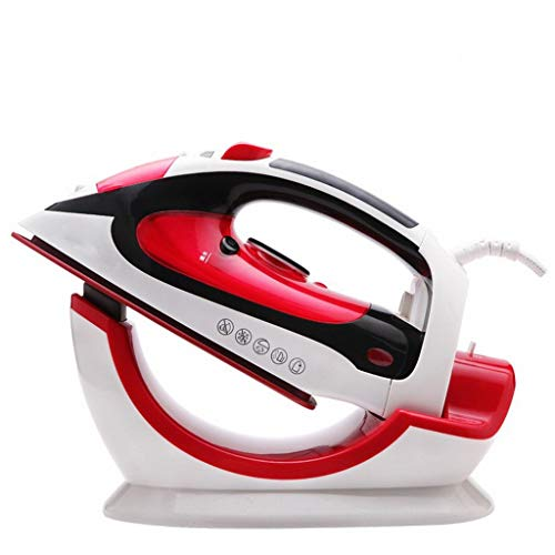 XLEVE Steam Iron with Nonstick Soleplate Small Size Lightweight Best for Travel Powerful Steam Output Dry Iron Function