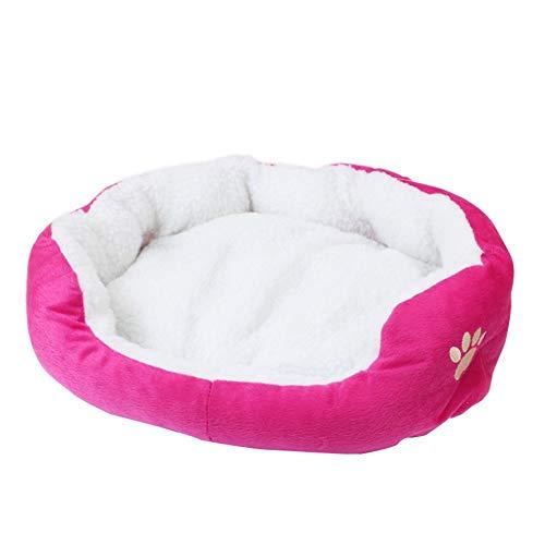 Reeseiy Precioso Sofá Cama para Perros Cama para Chic Gatos Nido para Mascotas Perrera Piel Cachorro Gato Gatito Suave Y Cómodo 50 Cm * 40 Cm Accesorios Diarios para Mascotas Producto
