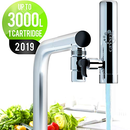 GEYSER EURO Wasserfilter für Wasserhahn Küche...