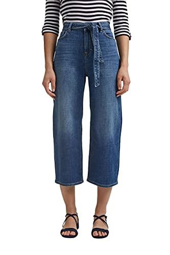 ESPRIT Damen 021EE1B338 Jeans, 901/BLUE Dark WASH, 29/24
