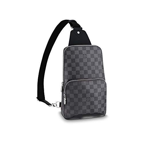 Louis Vuitton Avenue Sling Bag Men Backpacks (Damier Graphite)