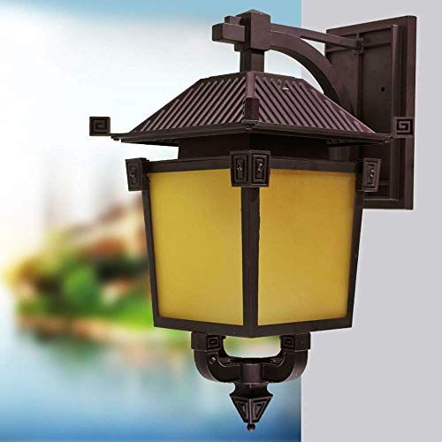 Wandlamp van kristalglas, spiegellamp, verlichting vooraan, retro-verlichting, buitenverlichting, wandverlichting, industriële verlichting, vintage, van aluminium, restaurant, bar, wandlamp, lantaarn Hauteur: 52cm