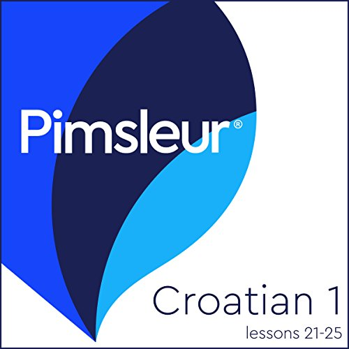Croatian Phase 1, Unit 21-25 audiobook cover art