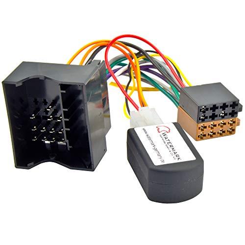 Watermark AS-3360 Radio Adapter CAN-Bus für BMW E81 E87 E90 E91 E60 E61 E83 E84 E89 Mini One Clubman Countryman ab 2005, Zündungsplus 12V Simulator