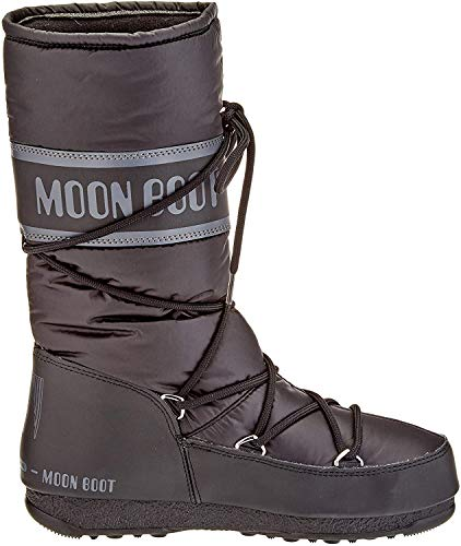 Moon Boot Damen High Nylon Wp Schneestiefel, Schwarz (Nero 001), 40 EU