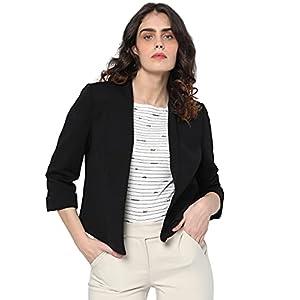 VERO MODA Damen Vmkelly L/S TLR Blazer, Black, Normal
