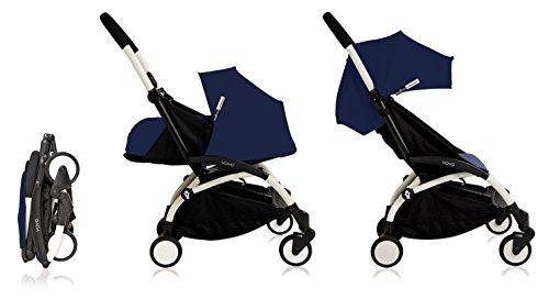 Babyzen YoYo+ Stroller Bundle (Yoyo+ Stroller, Canopy & Newborn Pack) Air France Blue