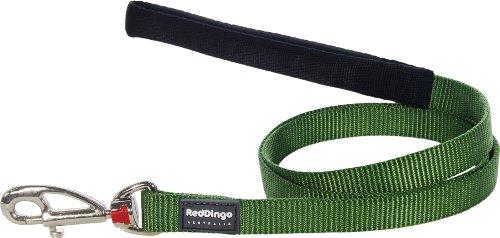 Red Dingo - Correa para Perro (20 mm x 1,2 m), Color Verde