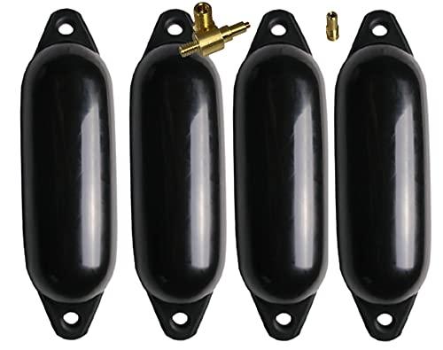 MOTIVEX Fenderset 4 Bootsfender (schwarz, 45)