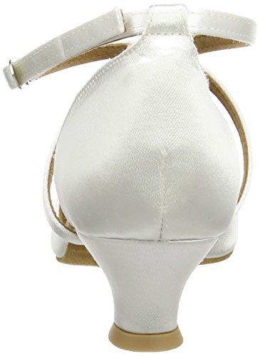 Diamant Brautschuhe Standard Tanzschuhe 107-013-092, Damen Tanzschuhe – Standard & Latein, Weiß (Weiß), 44 EU (9.5 Damen UK) - 3
