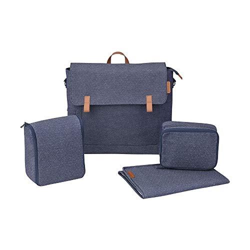 Maxi Cosi Modern Bag, praktische Wickeltasche mit vielen Extras, Thermobox, Wickelunterlage, Thermobox, Kulturtasche, Baby-Tasche, Windel-Tasche, sparkling blue
