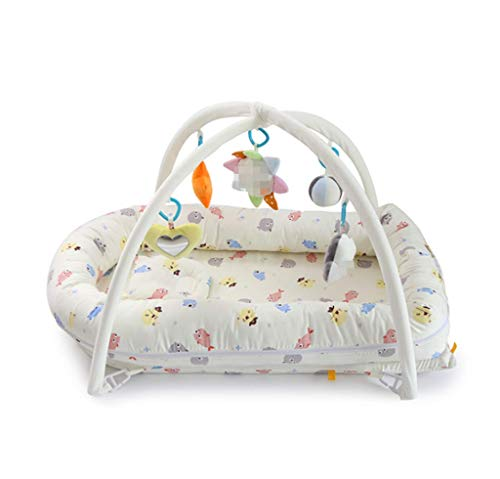 Why Choose Baby cot - Game Blanket, Toy Rack, 3-12 Months Newborn Portable Bed in Bed 0-1 Years Old ...